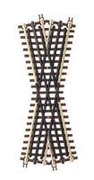 Atlas-O 3-Rail - 22-1/2 Degree Crossing O Scale Nickel Silver Model Train Track #6082