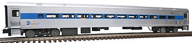 Atlas-O Comet II Passenger Coach, 3-Rail - Metro North #6146 -- O Scale Model Train Passenger Car -- #62432