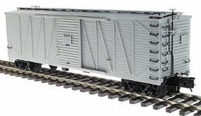 Atlas-O USRA 40 Single-Sheathed Wood Boxcar 3-Rail Undecorated O Scale Model Train Freight Car #6450
