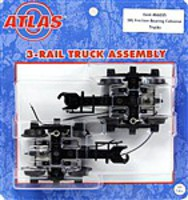 Atlas-O 3Rl Friction Brng Cab Trk - O-Scale