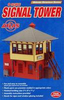 Atlas-O Signal Tower Kit O Scale Model Railroad Building #6900