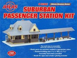Atlas-O Passenger Station Kit O Scale Model Railroad Building #6901