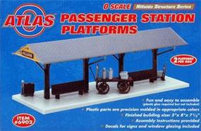 Atlas-O Station Platform Add-On O Scale Model Railroad Building #6902