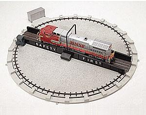 Atlas-O Turntable -- O Scale Nickel Silver Model Train Track -- #6910