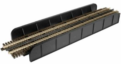 Atlas-O Through Plate Grider Bridge, 3-Rail - Single Track -- O Scale Model Railroad Bridge -- #6918