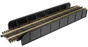 Atlas-O Through Plate Grider Bridge, 3-Rail - Single Track O Scale Model Railroad Bridge #6918