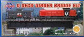 Atlas-O Deck Girder Bridge - 3-Rail O Scale Model Railroad Bridge #6923