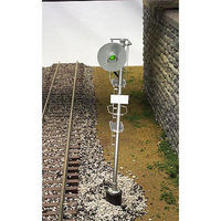 Atlas-O Type ''SA'' Searchlight Signal 3-Rail O Scale Model Railroad Trackside Accessory #6936