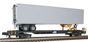 Atlas-O Front Runner w/45 Pines Trailer - 3-Rail Undecorated O Scale Model Train Freight Car #6950