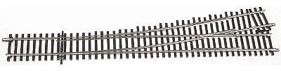 Atlas-O Code 148 2-Rail - #5 Left Hand Turnout -- O Scale Nickel Silver Model Railroad Track -- #7024