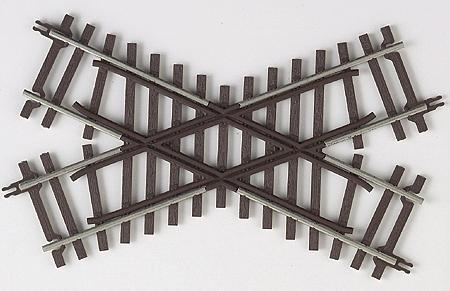 Atlas-O Code 148 2-Rail - 45 Degree Crossing -- O Scale Nickel Silver Model Train Track -- #7081