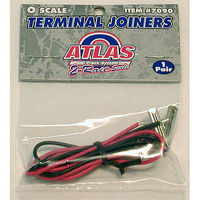 Atlas-O Code 148 2-Rail Accessories Terminal Joiners O Scale Nickel Silver Model Train Track #7090
