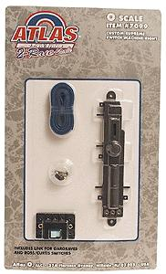 Atlas-O Code 148 2-Rail Right Hand Switch Machine O Scale Nickel Silver Model Railroad Track #7099
