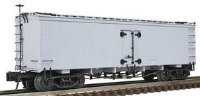 Atlas-O 36 Wood Refrigerator Car 3-Rail Undecorated O Scale Model Train Freight Car #80002