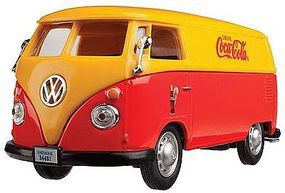 Atlas-O 1960s Volkswagen Cargo Van Coca-Cola (red, orange) Diecast Model Van 1/43 Scale #820051