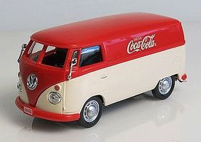 Atlas-O 1960s Volkswagen Cargo Van Coca-Cola (red, white) Diecast Model Van 1/43 Scale #820052