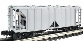 Atlas-O ACF 70-Ton 2-Bay Covered Hopper 3-Rail Undecorated O Scale Model Train Freight Car #8350