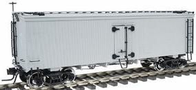 Atlas-O 36' Wood Reefer 2-Rail Undecorated O Scale Model Train Freight Car #9000