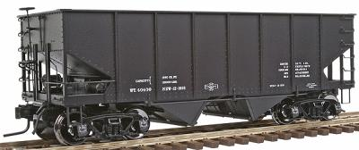 Atlas-O Atlas O Master(TM) USRA 55 Ton 2-Bay Coal Hopper, 2-Rail, Assembled -- Data Only - O-Scale