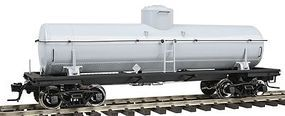 Atlas-O 8,000-Gallon Tank Car - 2-Rail Undecorated O Scale Model Train Freight Car #9650