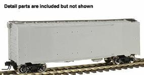 Atlas-O 1937 AAR 40 Double-Door Boxcar - 2-Rail Undecorated O Scale Model Train Freight Car #9700