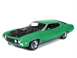 AutoWorldDiecast 1970 Ford Torino Cobra Diecast Model Car 1/18 Scale #1018