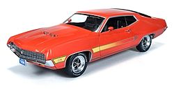 Auto World Diecast 1970 Ford Torino GT -- Diecast Model Car -- 1/18 Scale -- #1020