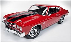 Auto World Diecast 1970 TopGear Chevy Chevelle SS -- Diecast Model Car -- 1/18 Scale -- #1021