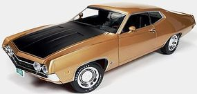 AutoWorldDiecast 1970 Ford Torino Cobra Diecast Model Car 1/18 Scale #1049