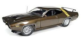 AutoWorldDiecast 1971 Plymouth Roadrunner HT Diecast Model Car 1/18 Scale #1063
