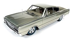 Auto World Diecast 1966 Dodge Charger 50th Anniversary -- Diecast Model Car -- 1/18 Scale -- #1067