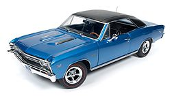 Auto World Diecast 1967 Chevelle SS 427 -- Diecast Model Car -- 1/18 Scale -- #1068