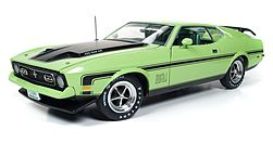 Auto World Diecast 1971 Ford Mustang Mach 1 -- Diecast Model Car -- 1/18 Scale -- #1069