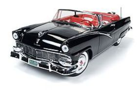 AutoWorldDiecast 1956 Ford Sunliner Convertible Diecast Model Car 1/18 Scale #1072