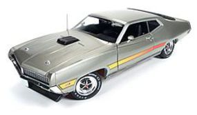 AutoWorldDiecast 1971 Ford Torino GT Diecast Model Car 1/18 Scale #1074