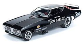 AutoWorldDiecast 1971 Don Garlits Charger F/C Diecast Model Car 1/18 Scale #1107