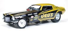 AutoWorldDiecast 1970s Jeg Coughlin Camaro Diecast Model Car 1/18 Scale #1160