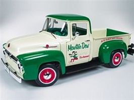 AutoWorldDiecast 1956 Ford F100 Pickup Diecast Model Truck 1/18 Scale #211
