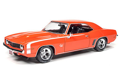 Auto World Diecast 1969 Chevy Camaro -- Diecast Model Car -- 1/24 Scale -- #24004