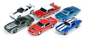 AutoWorldDiecast AutoWorld Diecast Set (6 Cars) Diecast Model Car 1/64 Scale #64013a