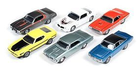 AutoWorldDiecast AutoWorld Diecast Set (6 Cars) Diecast Model Car 1/64 Scale #64023b