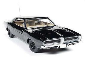 AutoWorldDiecast 1969 Dodge Charger Happy Birthday Lee Plastic Model Car 1/18 Scale #ss110