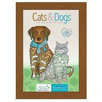AndersonPresss Cats & Dogs All We Need Is Love Coloring Book #1940899060