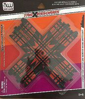 Auto-World HO Intersection Track (1pk) HO Scale Slot Car Track #174