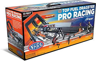 Auto World Racing HO NHRA Top Fuel Dragster Pro Slot Car Racing Set