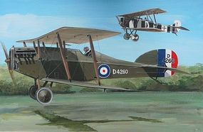 AZ Martynside F4 Buzzard Biplane Plastic Model Airplane Kit 1/72 Scale #7341