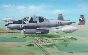 AZ LET L200A/D Morava Military Aircraft Plastic Model Airplane Kit 1/72 Scale #7352