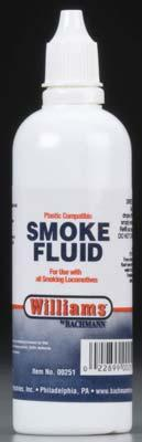 Bachmann Smoke Fluid 4.5 oz -- Model Train Track Accessory -- #00251