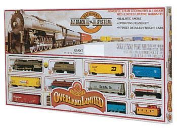Bachmann Overland Limited -- HO Scale Model Train Set -- #00614