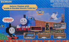 Bachmann Deluxe Thomas w/Annie/Clarabel Set Thomas-the-Tank Electric Train Set #00644